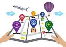 3D Travel Icons Royalty Free Stock Photo Image 19078235