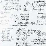 Math equations stock illustration. Illustration of