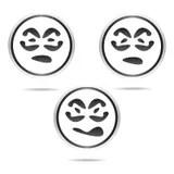 Stock Image: Angry Ninja Icons. Image: 52095531