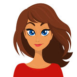 woman eyes collection vector illustration