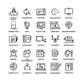 Idea Creation Process Icon Symbol Stock Illustration