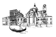 Venise Stock Illustrations, Vecteurs, & Clipart
