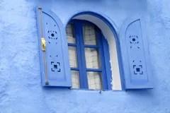 Resultat d'imatges de ventana marruecos azul