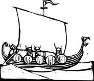 Viking Ship Stock Illustrations