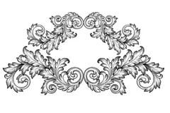 Baroque Stock Illustrations
