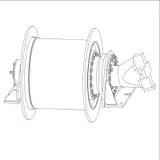 Image of wire spool stock illustration. Illustration of