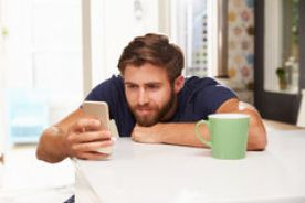 Image result for coffee and texting