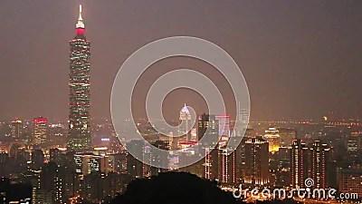 臺灣:臺北在晚上 影視素材. 視頻 包括有 臺灣:臺北在晚上 - 47211902