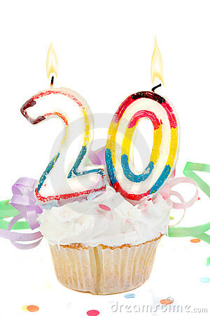 20th Birthday Royalty Free Stock Photos Image 11057838