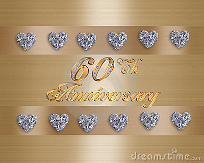 60th Anniversary Stock Photo  Image 15686200