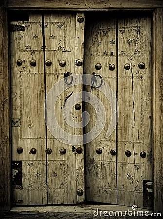 Ancient Doors Stock Photography  Image 6035532
