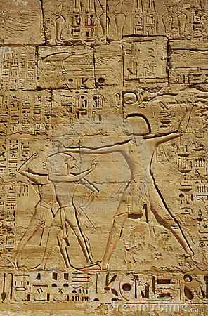 Ancient Egyptian Reliefs Stock Images  Image 3907954
