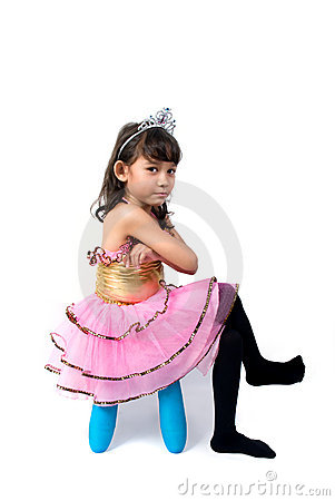 chair design styles cover hire durham angry little princess stock photo - image: 3798170