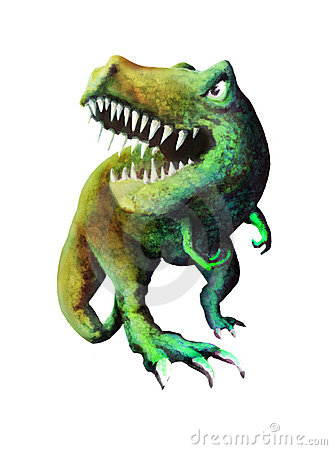 Angry T Rex Royalty Free Stock Image Image 16175016