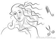 aphrodite's hair stock