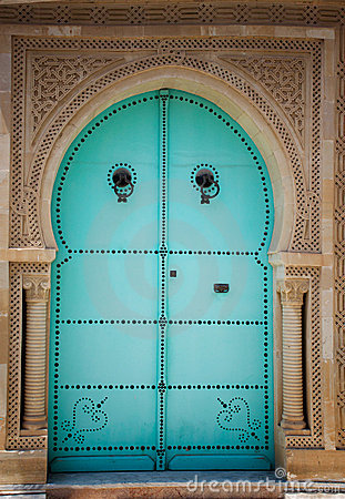 Arabic Door Royalty Free Stock Photo Image 20595095