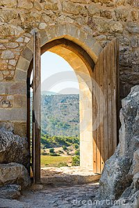Arch In The Fortress Stock Images - Image: 34167824