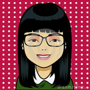 asian girl cartoon stock vector