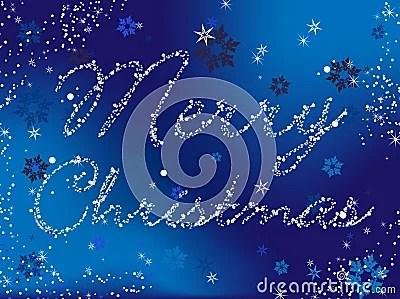 Azzurro Di Buon Natale Fotografia Stock Immagine 12012522