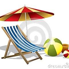 Beach Chair And Umbrella Clipart Avenue Six