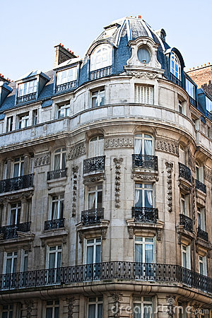 Beautiful Architecture In Paris France Royalty Free Stock