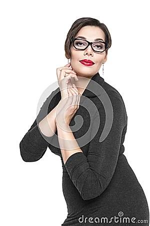 https://i0.wp.com/thumbs.dreamstime.com/x/beautiful-plus-size-woman-black-dress-glasses-posing-isolated-white-background-48216423.jpg?w=640