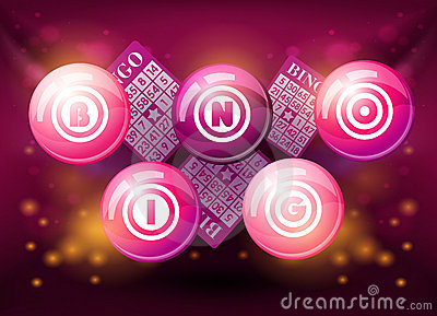 chair design styles burgundy accent bingo balls on pink background royalty free stock images - image: 22933349