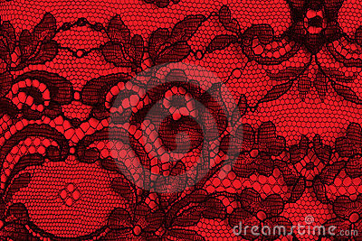 Black And White Art Deco Wallpaper Black And Red Fine Lace Texture Royalty Free Stock Images
