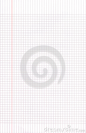 Blank Graph Paper Squares Background Royalty Free Stock