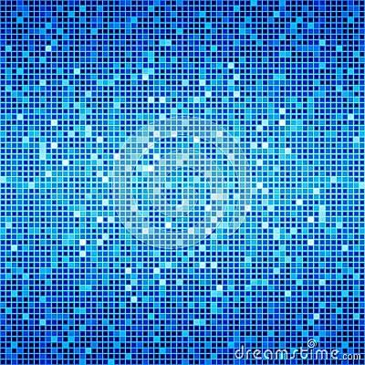 Blue Ocean Disco Matrix Background Royalty Free Stock