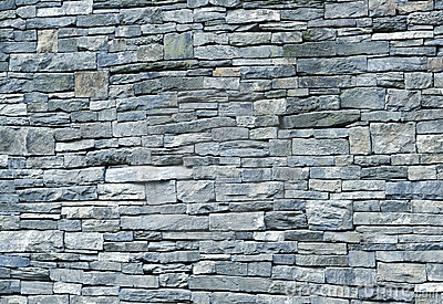 3d Modern Wallpaper Designs Blue Stone Schist Wall Royalty Free Stock Image Image