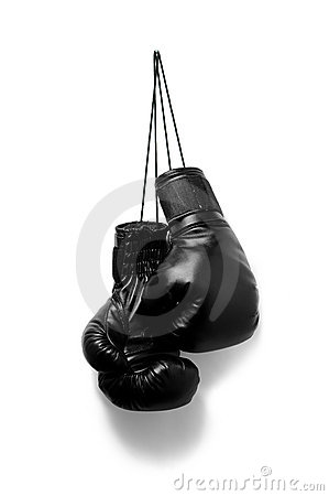 Hanging Girl Wallpaper Boxing Gloves Stock Photo Image 22979540