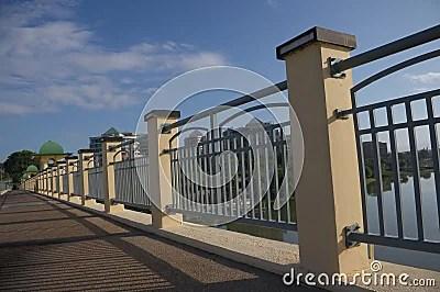 Bridge Railing Perspective Royalty Free Stock Photo  Image 12887525