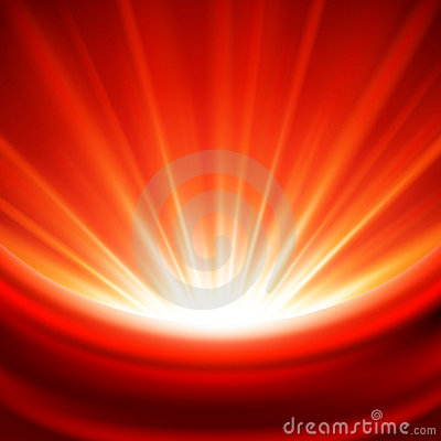 Bright Red Light Background Royalty Free Stock Images