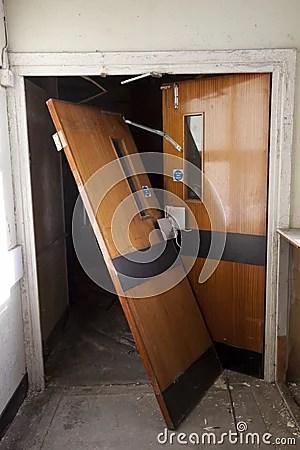 Broken Door Stock Photography  Image 23668402