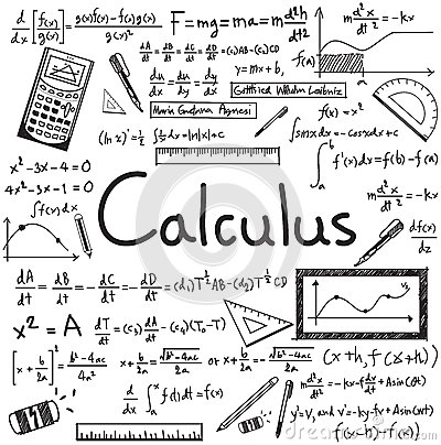 Calculus Law Theory And Mathematical Formula Equation