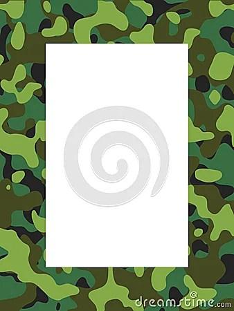 Camouflage Frame Stock Photos Image 823693