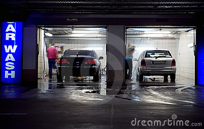 Car Wash In Underground Parking Garage Stock Photos  Image 13417163
