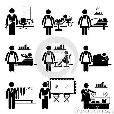 Carreiras Das Ocupações Dos Trabalhos De Serviços Do Salão