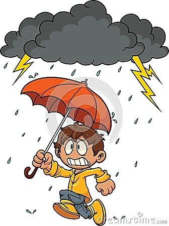 Cartoon Kid Running Stock Vector Image 57968616