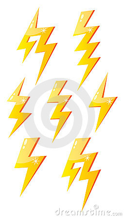 Cartoon Lightning Stock Images Image 17868884
