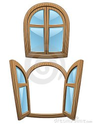 cartoon windows wooden window frame vector clip open cartoons illustrations closed background dreamstime mr preview graphics royalty