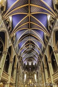 Ceiling Of A Catholic Church Stock Photo - Image: 45564120