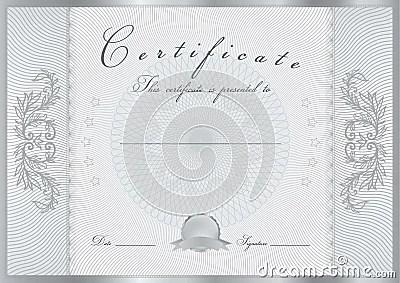 Certificate Diploma Award Template Pattern Royalty Free Stock Image Image 35508946