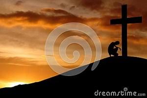confession christian prayer cross