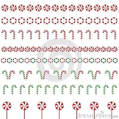 Christmas Borders Stock Illustration Image 61032637