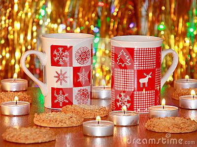 Christmas Card : Xmas Decoration - Stock Photos
