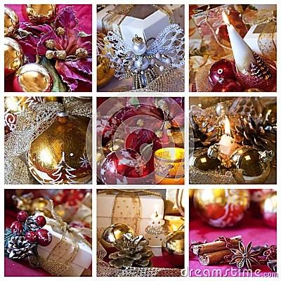Wallpaper Desktop 3d Animation Christmas Collage Stock Photo Image 15928950