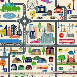 map generator example elements vector creating illustration seamless clipart pattern colour