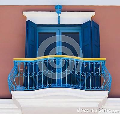 Colorful Balcony Stock Photo  Image 10606000